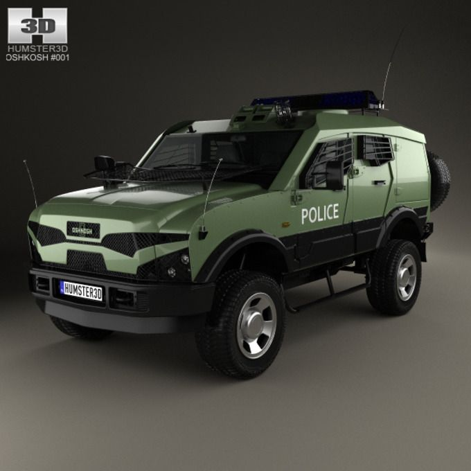 Oshkosh Sand Cat Transport 2012 by humster3d on Creative Market