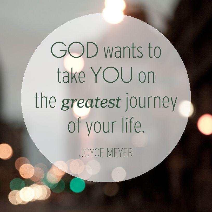 Attirant Joyce Meyer   God Wants To Take You.