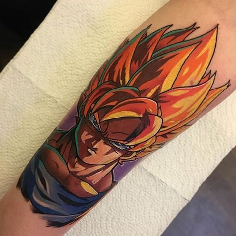 Dragon Ball Z Tattoo Visit Now For 3d Dragon Ball Z Shirts