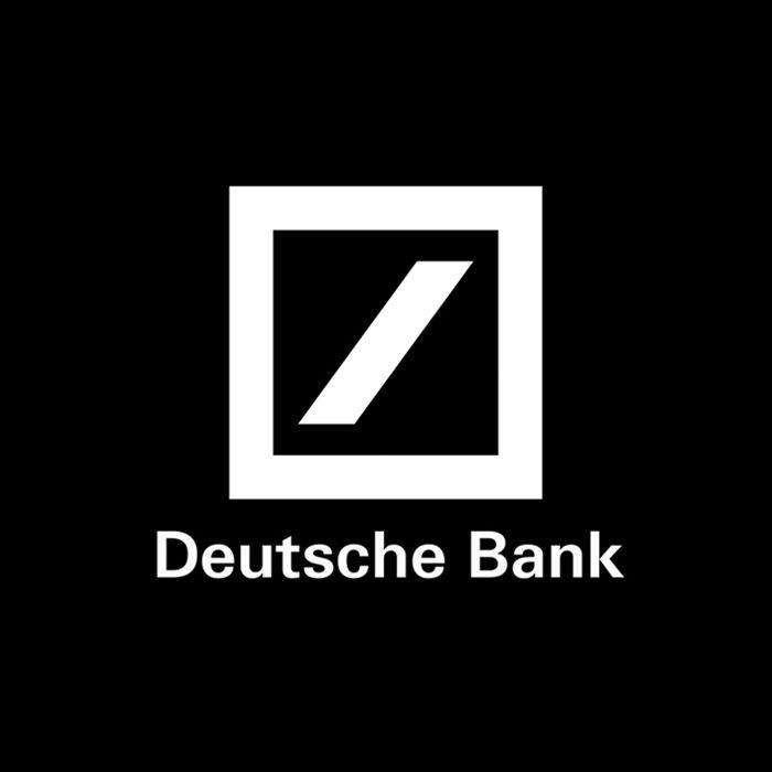Deutsche Bank by Anton Stankowski. (1974) logo branding
