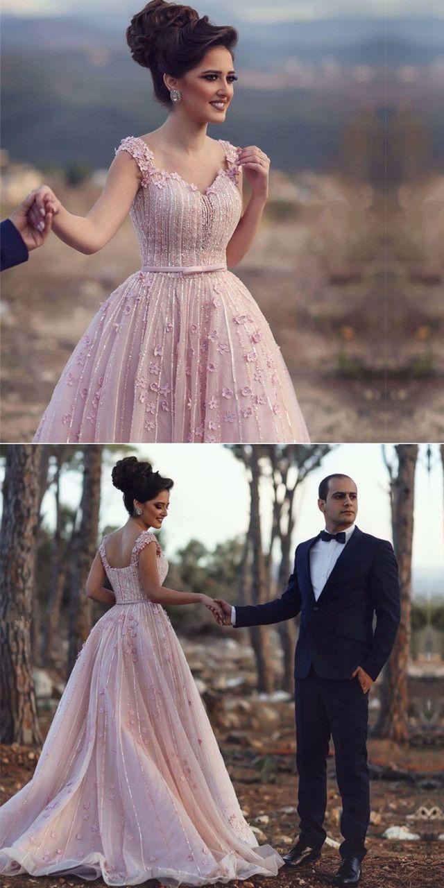 Gowns Blush Pink Wedding Dresselegant Prom