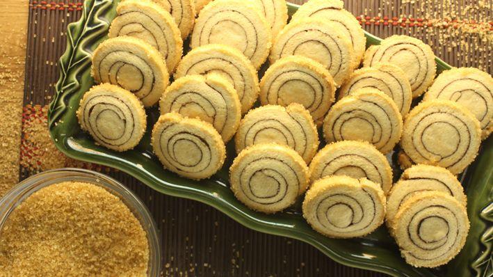 بسكويت بالقرفة والسكر البني Elwasfa Recipe Arabic Sweets Food Cookies