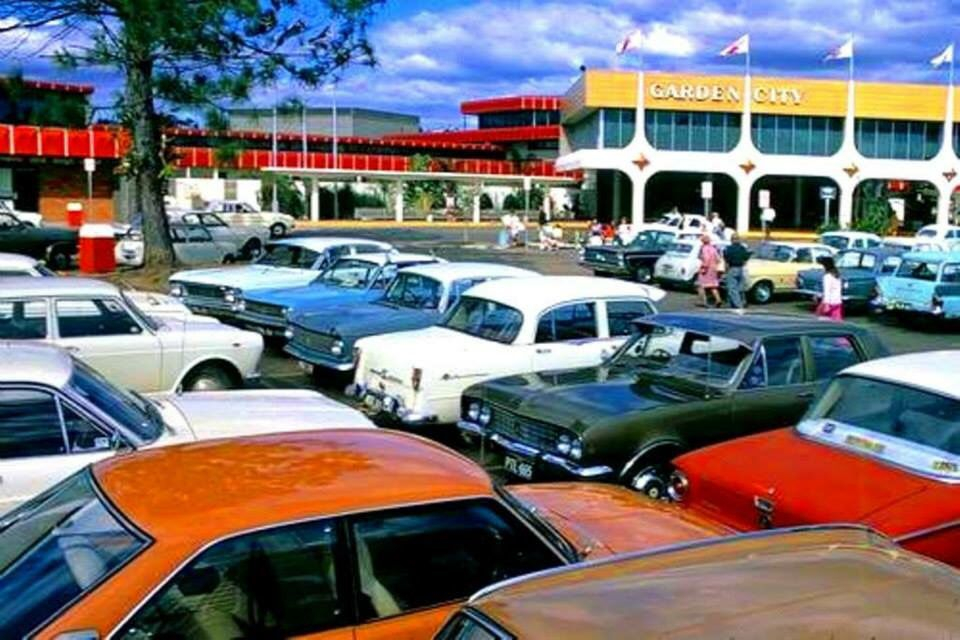Garden City Shopping Centre 1972 Mount Gravatt Queensland