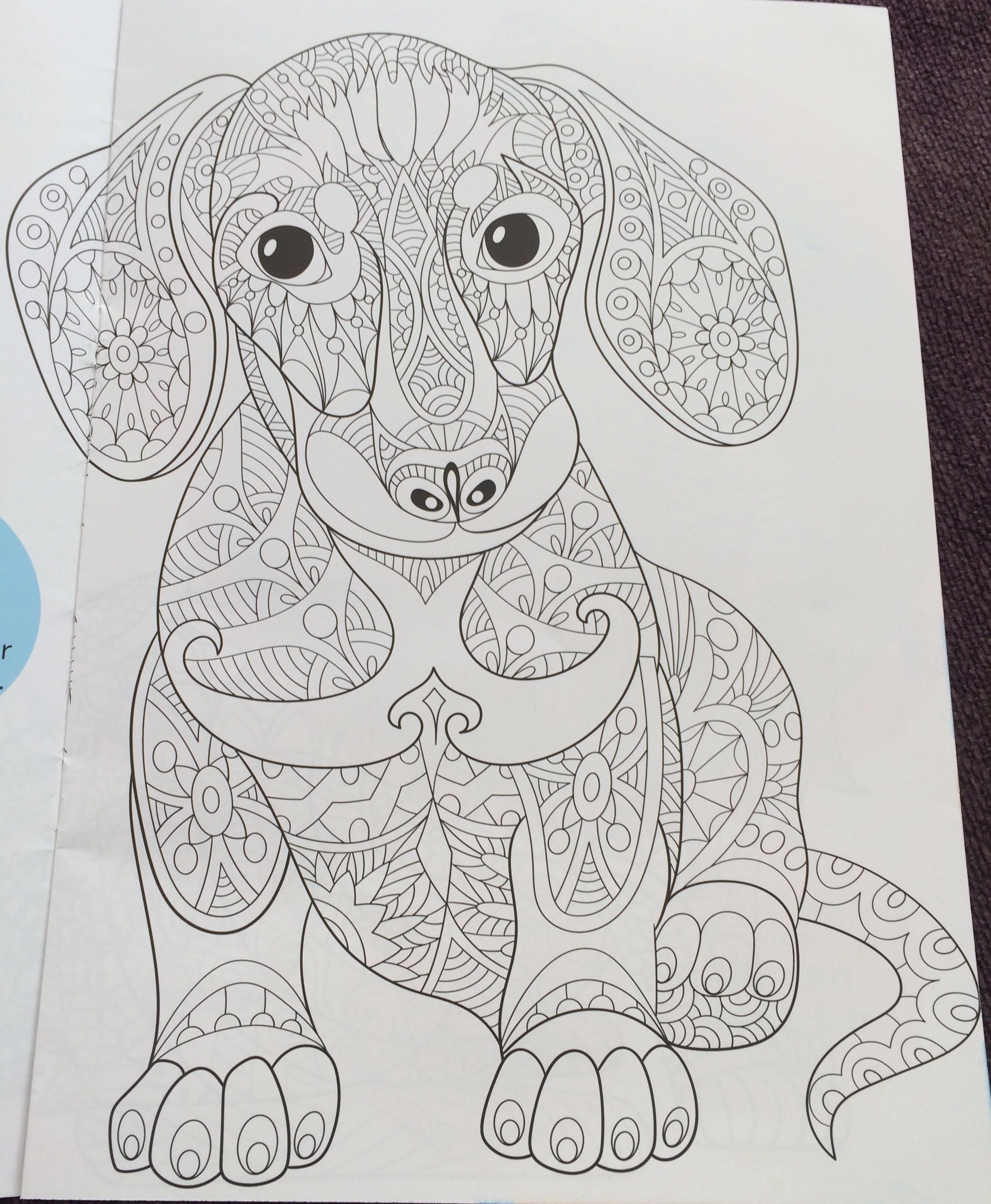 Pin By Diego Emmanuel Lopez Gomez On Mandala Dog Coloring Page Animal Coloring Pages Dachshund Colors [ 2730 x 2248 Pixel ]