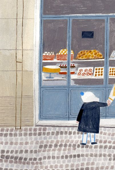 Beatrice Cerocchi.  This reminds me when Mama Lai would take us to the dessert section, guide us through a dessert meditation, tell us that was the best part of eating dessert and take us home without buying any.