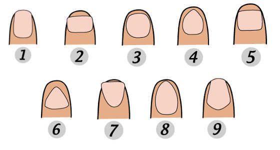 La forma de tus uñas devela tu personalidad