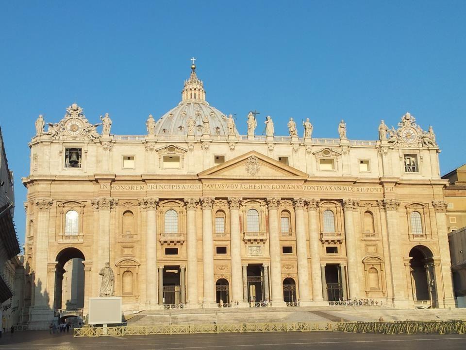 News.va English St. Peter's Basilica, this morning at 8