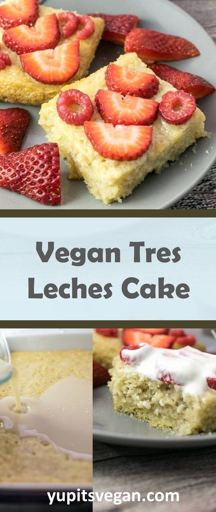 Vegan Tres Leches Cake Yup It S Vegan Fluffy Vegan