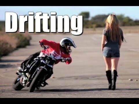The Reason Behind Motorcycle Drifting Bikes Scooters And