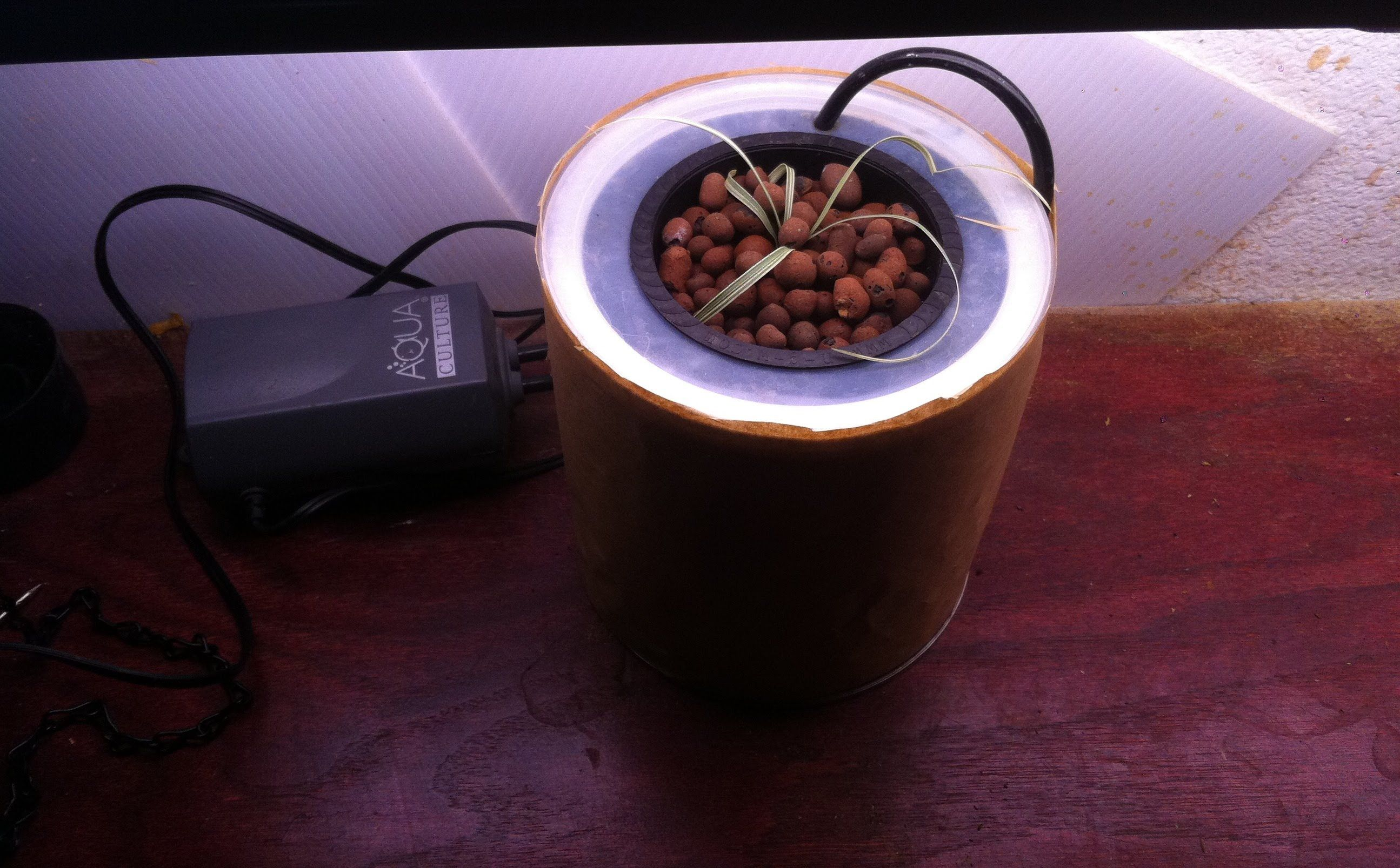 Garden and home zambia  Very small Hydroponic system Home made for   DIY  Pinterest