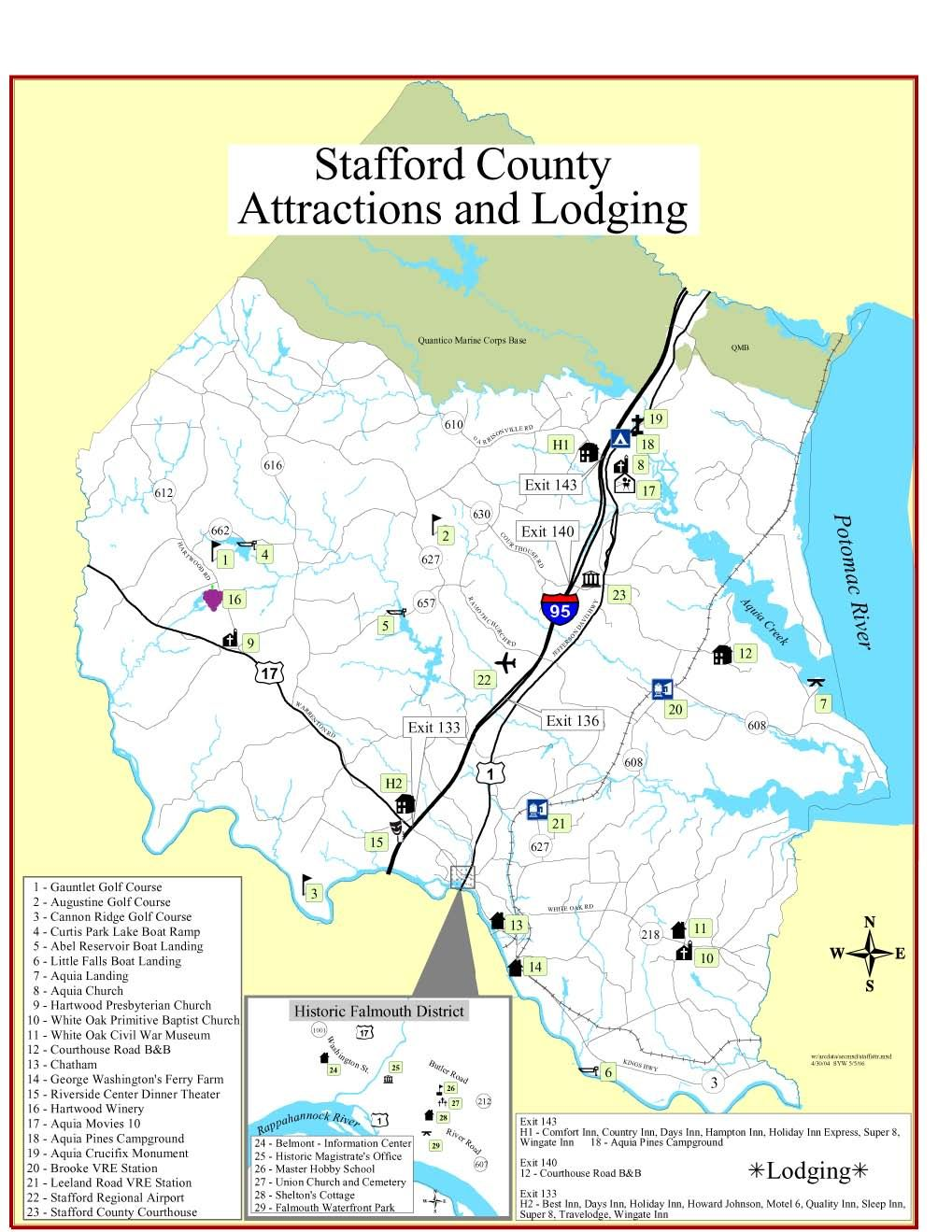 Stafford Is Located 25 Miles South Of The Washington D C Beltway On