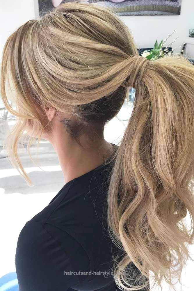 Ponytail Hairstyles Cute Ponytail Hairstyles You Should Try ☆ See More Lovehairstyles