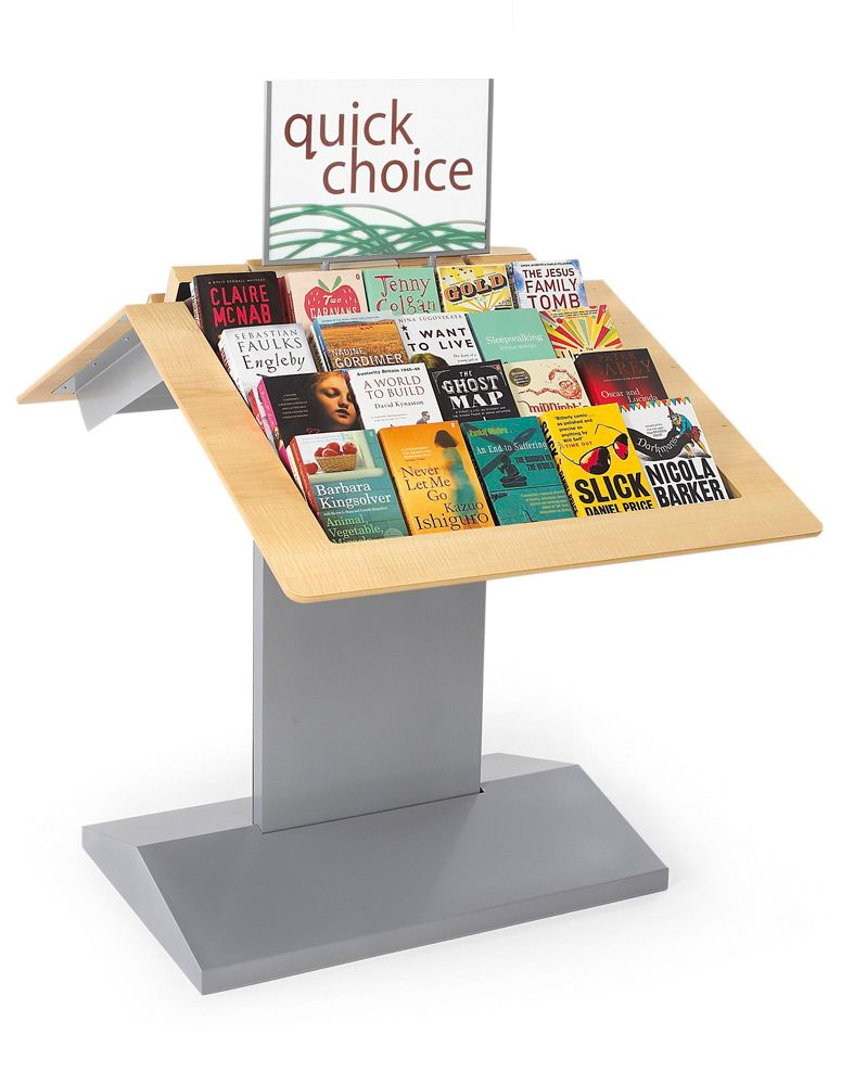 Attractive Quick Pick Display.  Nice Ideas