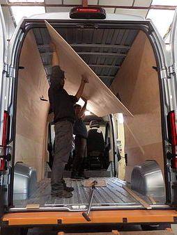 l 39 am nagement d 39 un fourgon en camping car van life. Black Bedroom Furniture Sets. Home Design Ideas