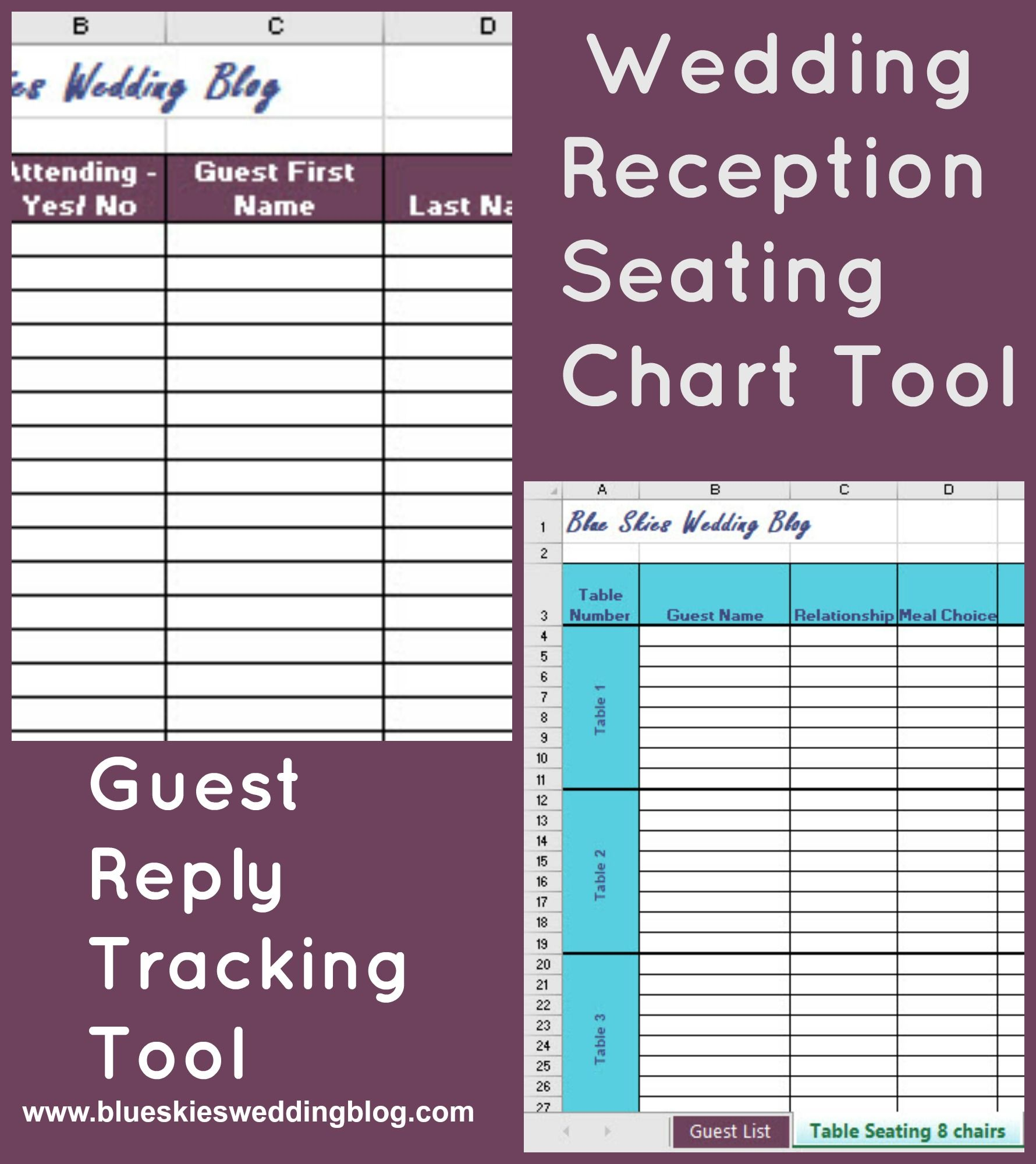 how to create a wedding reception seating chart in 5 easy steps