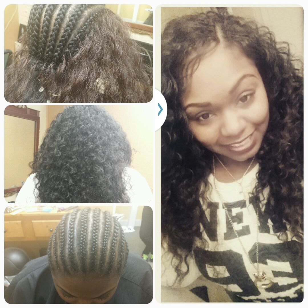 Crochet Braids Using Freetress Deep Twist All Things Hair And - Diy braid pattern