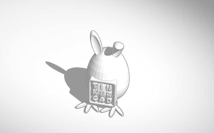 TinkerCAD-EasterEgg -- Yep I made this.  You can get a 3D print-out of it and decorate it for Easter. =) enjoy