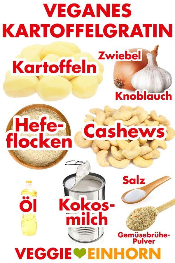 Veganes Kartoffelgratin #kochenundbacken