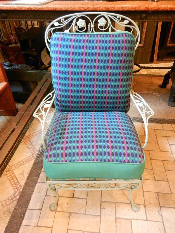 Salterini Patio Furniture Parts: Salterini Lawn Chair And Chaise Lounge - Neva Rust