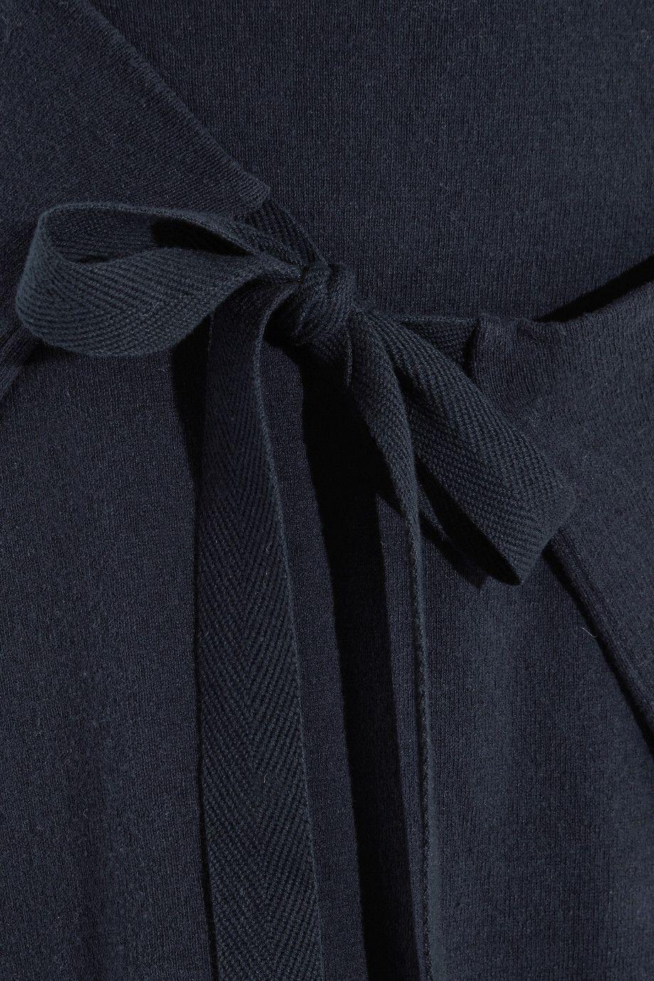 Joseph | Wrap-effect cotton-jersey midi skirt | NET-A-PORTER.COM