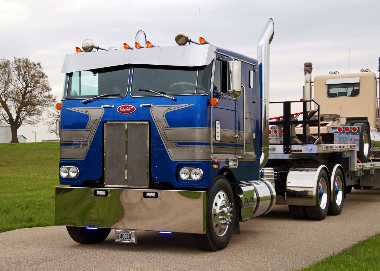 coe Peterbilt custom 352 - US Trailer can buy used trailers in any ...