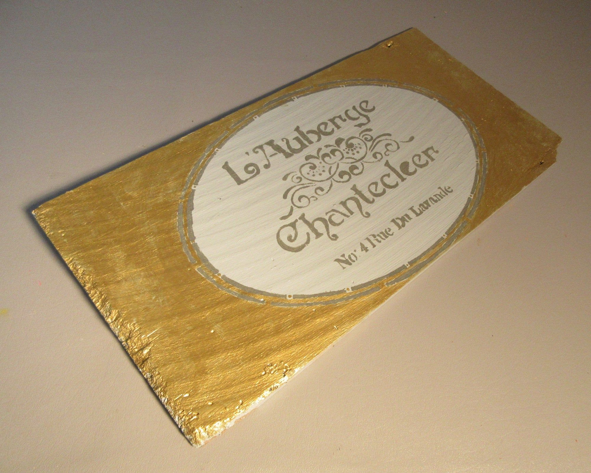 Best L'auberge Chantecleer French Country Inn Sign Paris On 640 x 480
