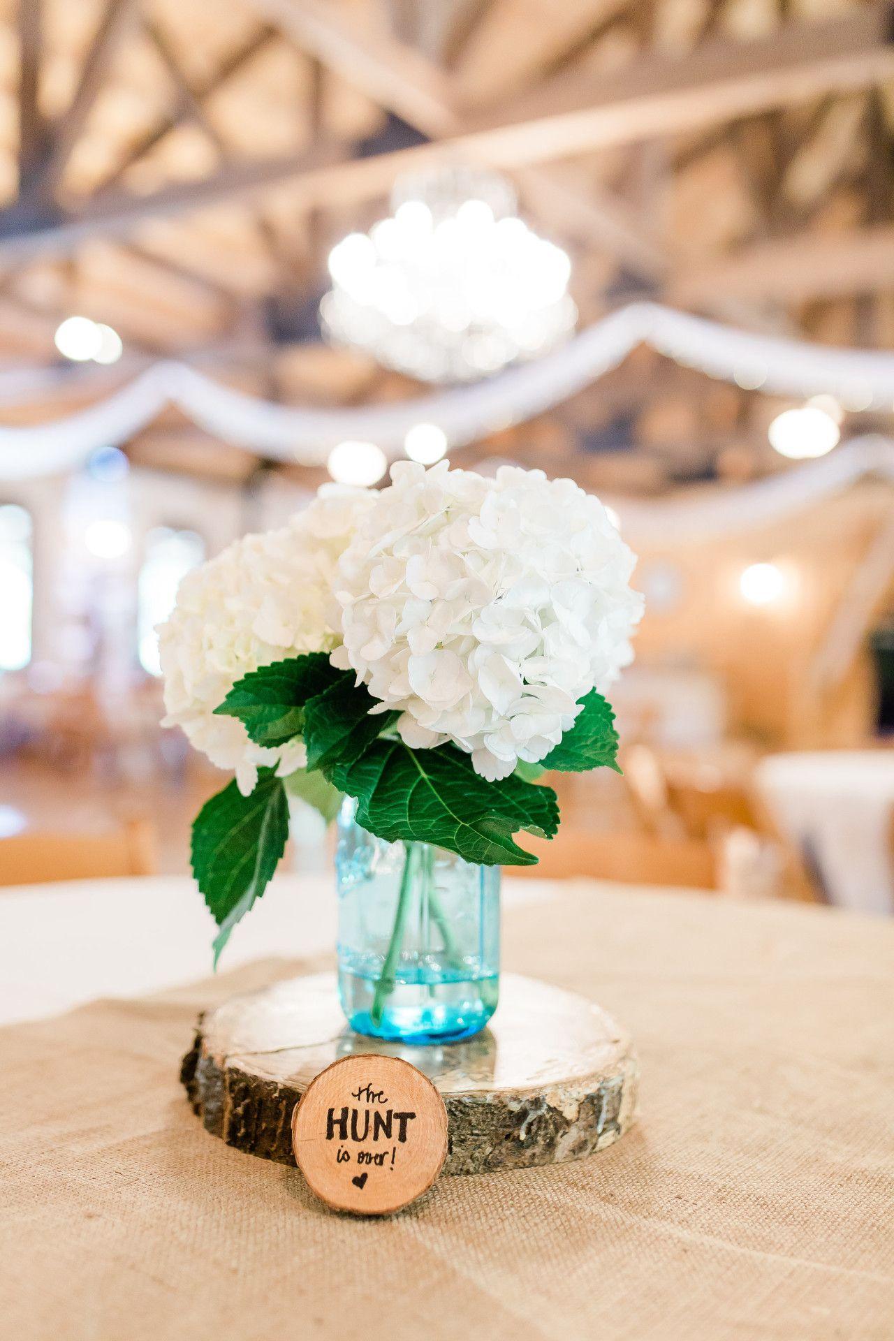 Diy rustic wedding centerpiece diy white rustic wedding