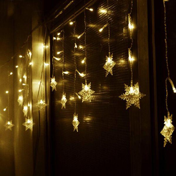 Christmas lights LED Snow Ice Light Home Garden Tree Flashing Decoration
