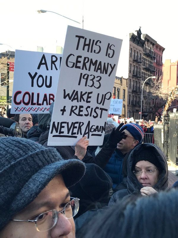 24 Of The Best Signs From New York S Lgbtq Solidarity Rally Lgbtq Rally Solidarity