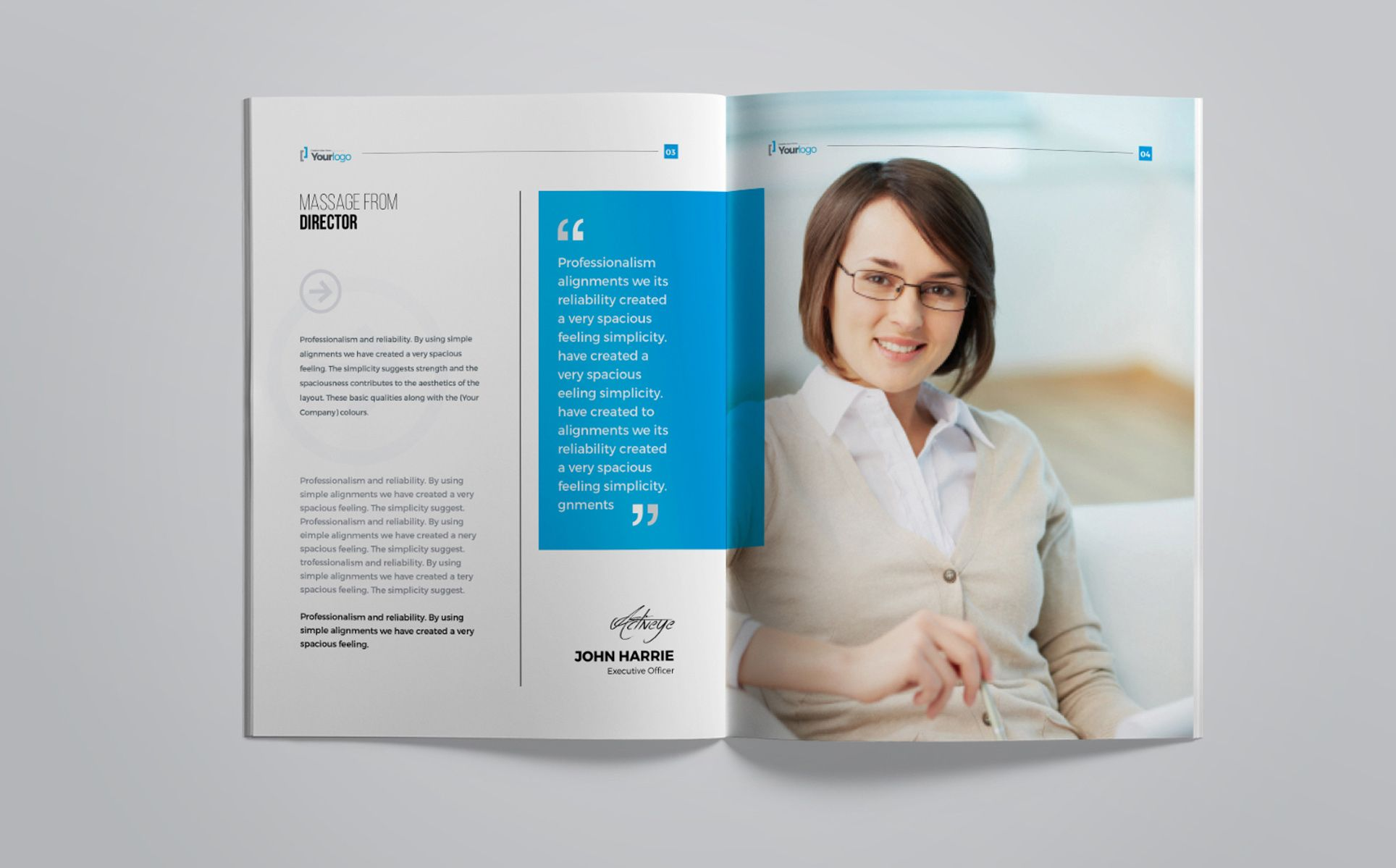 Company Profile Brochure Corporate Identity Template 67519 Company Profile Corporate Brochure Brochure