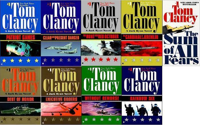 Tom Clancy - Pack 77 livres