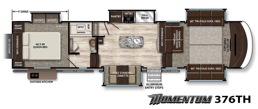 Momentum Fifth Wheel Toy Hauler Image Galleries Diy Living Room Decor Grand Designs Living Room Decor Modern