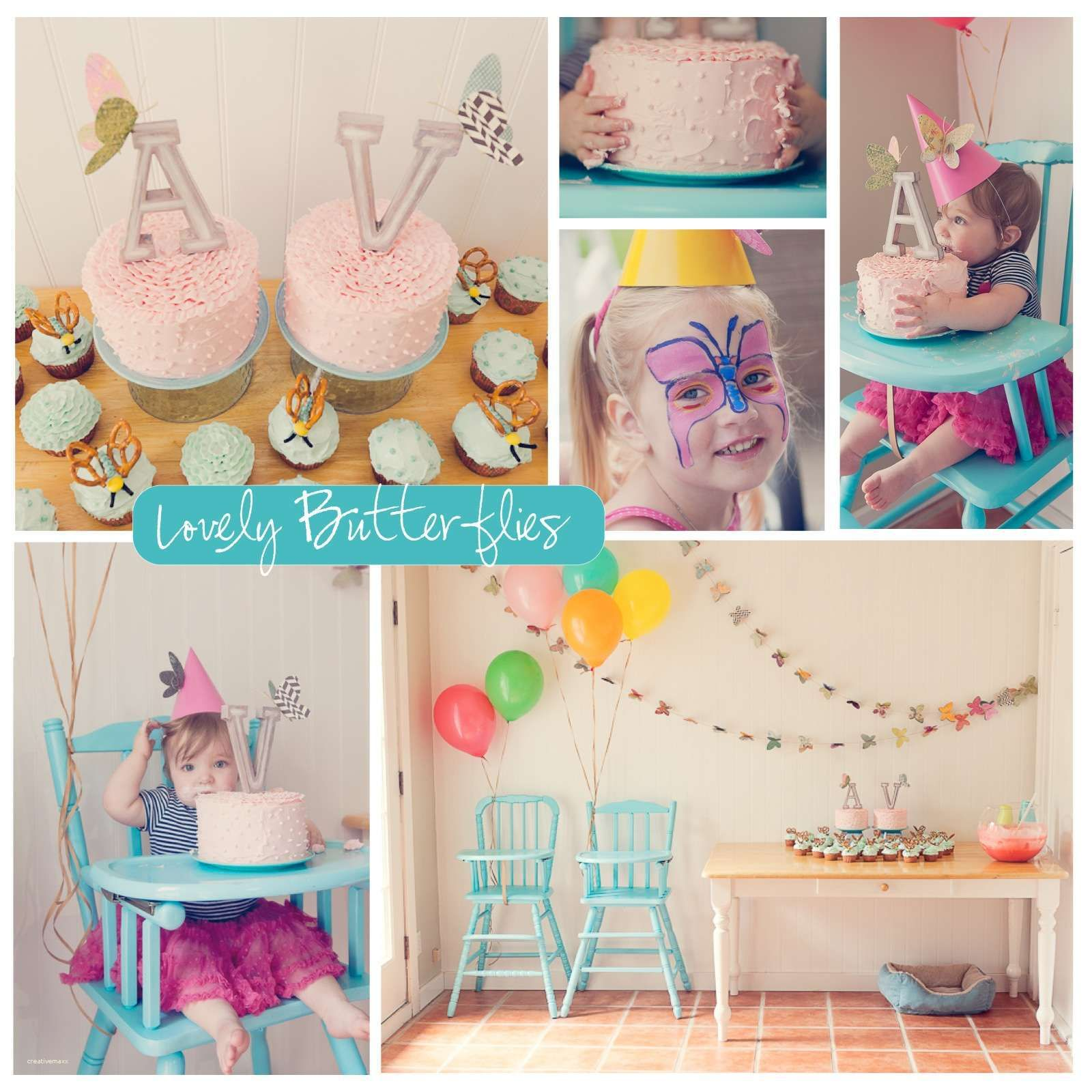 Awesome 1st Birthday Party Simple Decorations at Home Birthday