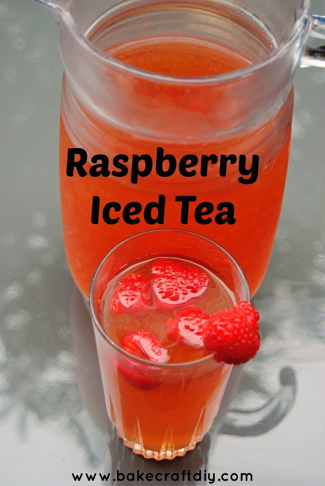 Raspberry Iced Tea Raspberry Iced Tea Iced Tea Homemade Iced Tea
