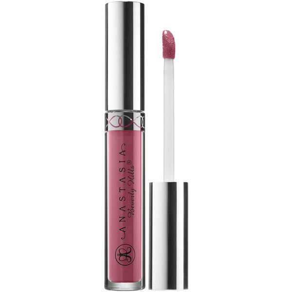 Anastasia Beverly Hills Liquid Lipstick (€18) ❤ liked on Polyvore featuring beauty products, makeup, lip makeup, lipstick and anastasia beverly hills