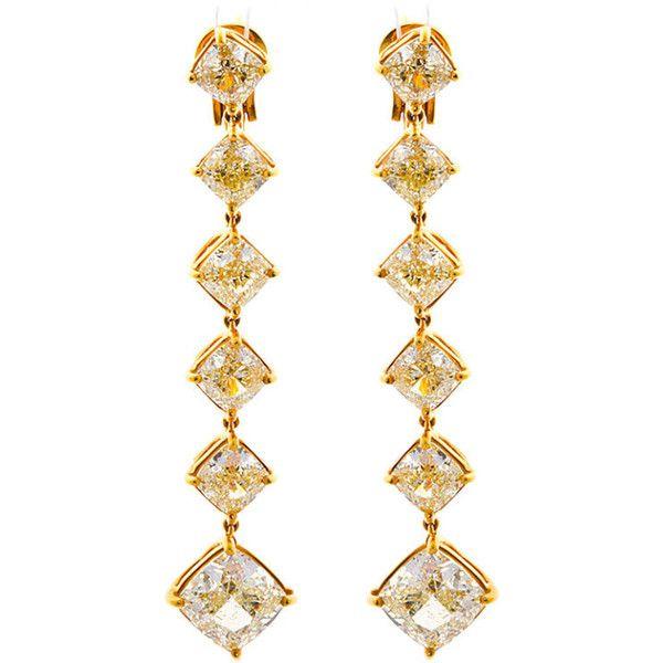 Diamond Yellow Dangle