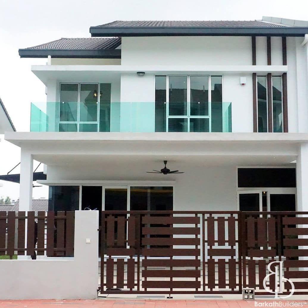 Kabinet Dapur Rumah Teres Dekorasi Rumah