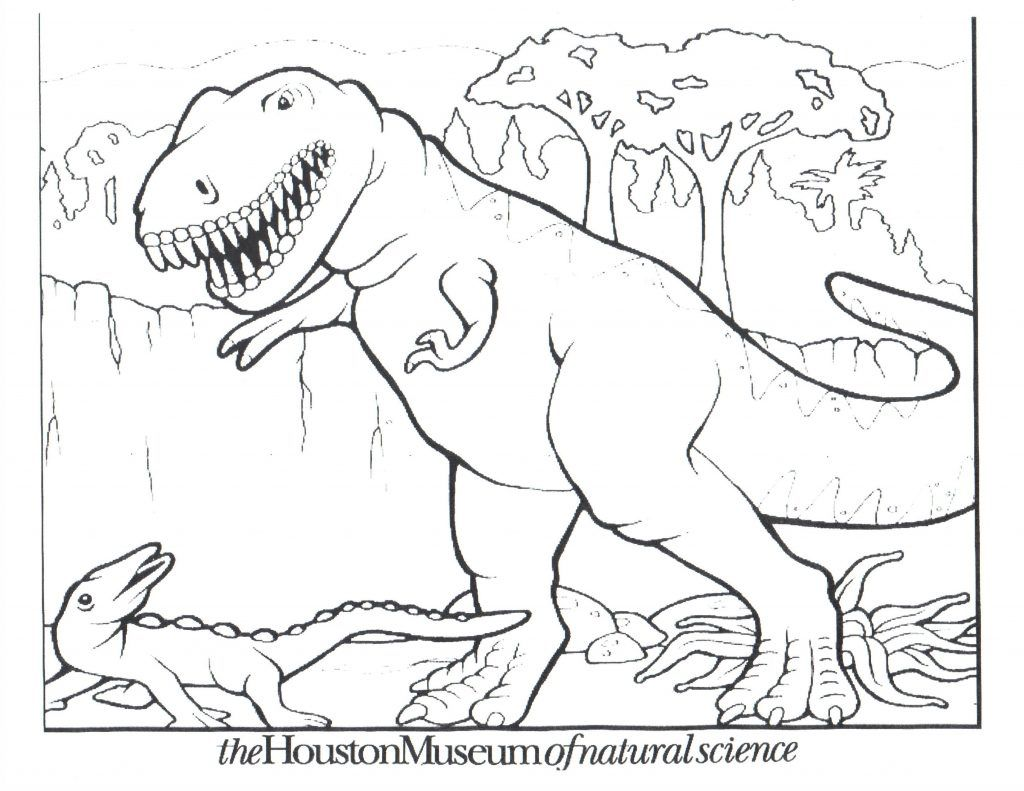Free Printable Dinosaur Coloring Pages For Kids With Images