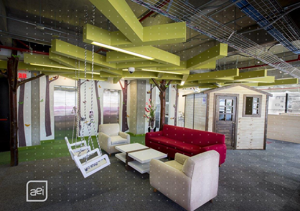 Oficinas de groupm dise o de arquitectura e interiores for Diseno oficinas modernas bogota