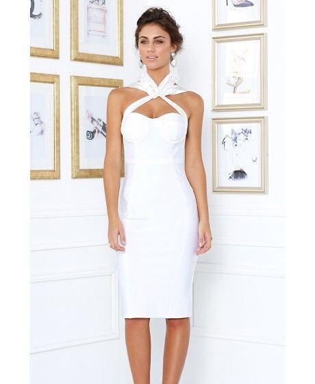Samantha bandage dress ( 2 colors) - Kourvosieur  - 1