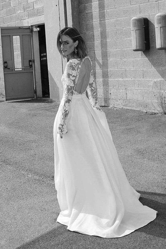 Rime Arodaky Fall 2018 Bridal Collection | Vintage wedding dresses ...
