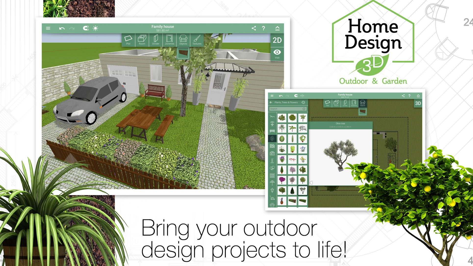 Home Design 3d Outdoor And Garden Lifestyle Productivity Apps Ios Garden Design Software Landscape Design Software Free Garden Design Software