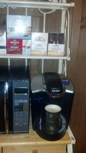 Please vote for this entry in Show us your Keurig® Coffee Space!!