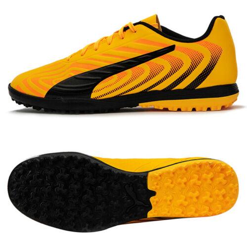 Puma One 20 4 Tt Turf Football Shoes Soccer Cleats Boots Yellow 10583301 Soccer Cleats Football Shoes Cleats