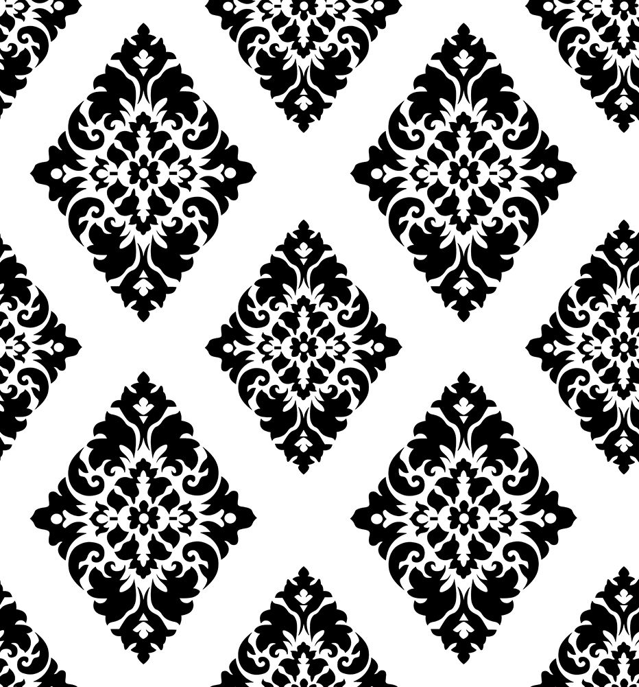 Haokhome Vintage Damask Peel And Stick Wallpaper Black White Self Adhesive Contact Paper Peel And Stick Wallpaper Wallpaper Drawers Black Walls