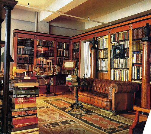 An Entry From American Gentility Home Room Home Libraries
