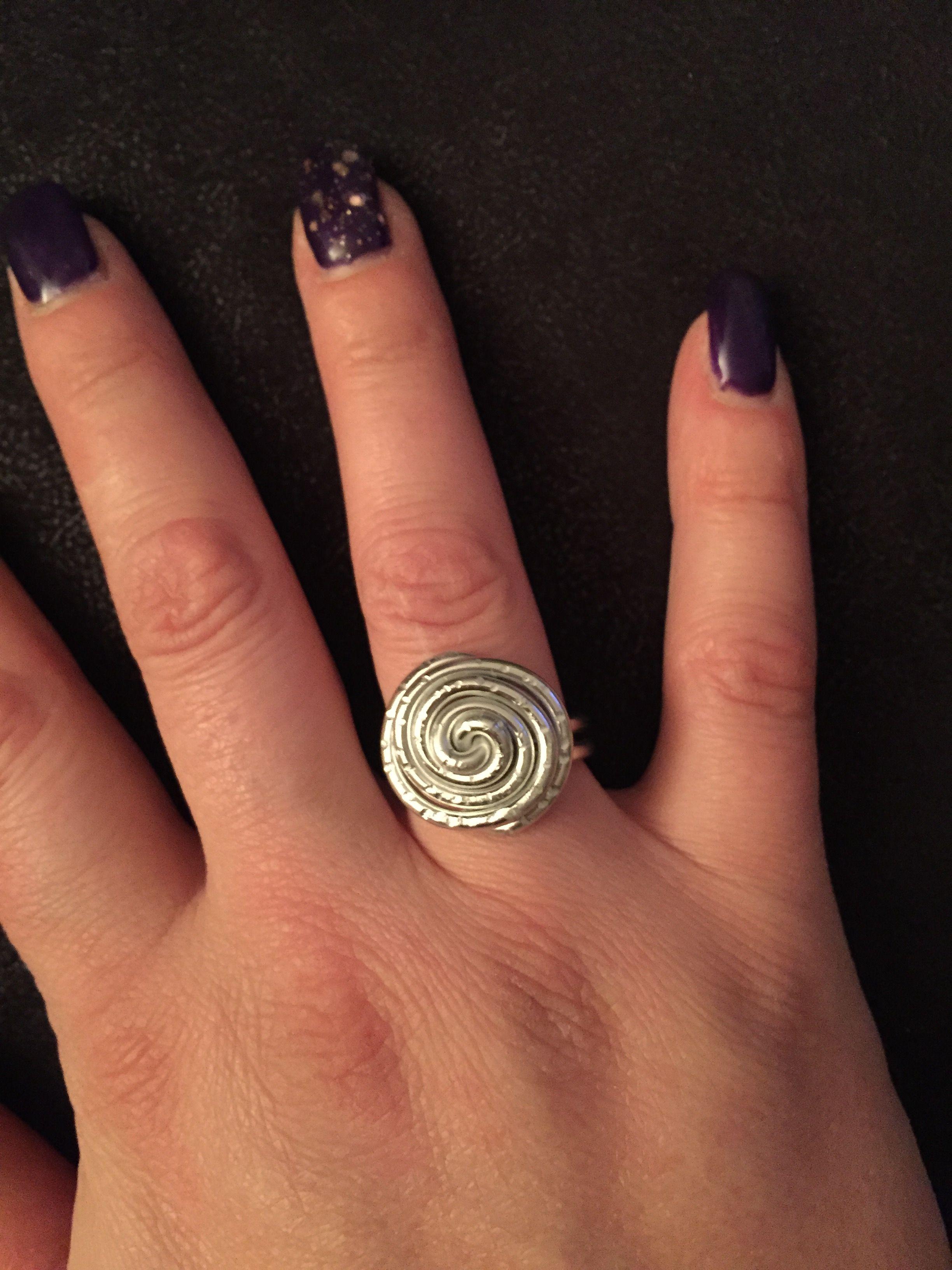 Ring aus Aludrath