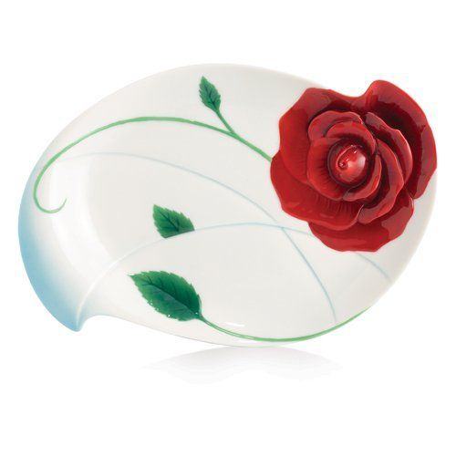 Perfect Franz Porcelain Collection Romance Of The Rose Dessert Plate Franz Porcelain  Http://smile Gallery