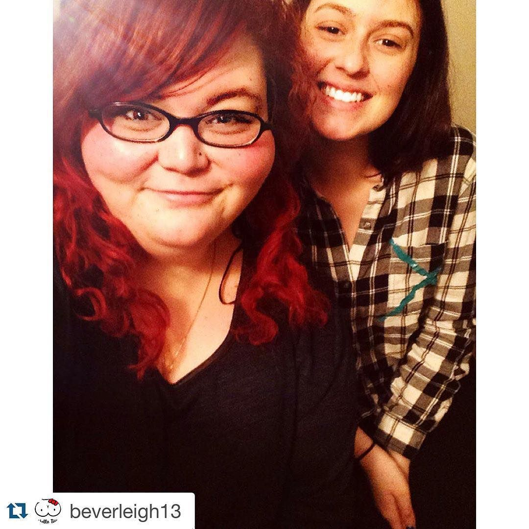 #Repost @beverleigh13 - Thank you for sharing your #IAmSimplyBeautiful selfie and supporting the movement to empower women to love their bodies regardless of size shape age or skin color. Keep spreading the word and changing lives!  My #beautiful #bestie ! @_rachy.h_  #bestfriend #friends #rideordie #thickandthin #since #kindergarten #iamsizesexy #redhair #redhairdontcare #purplehair #effyourbodystandards #effyourbeautystandards #iamsimplybeautiful #montreal #laval #bbbw #iamnoangel…