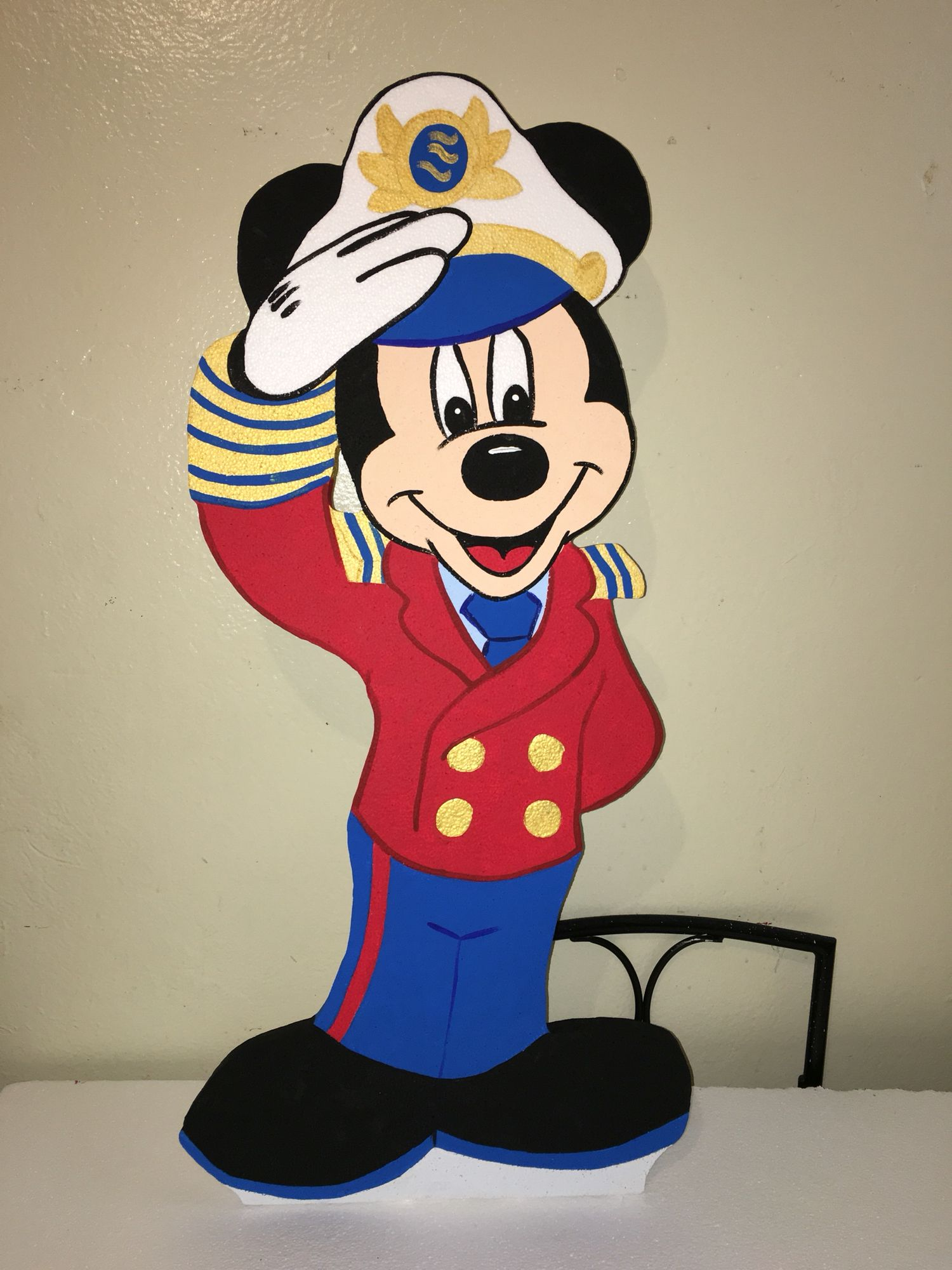 Mickey Mouse Sailor Captain Nautical Character Baby S